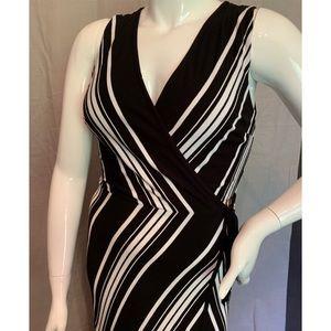 White House Black Market Knit Maxi Dress Size L